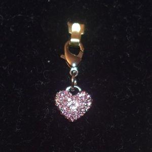 Pink Heart Charm